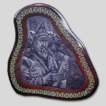 «Алтайский скиф с чеканом»