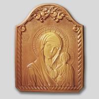 Панно «Богоматерь Казанская»