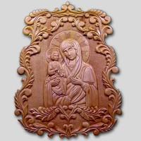 Панно «Богоматерь Троеручица»