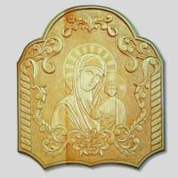 Панно «Богоматерь с Христом»