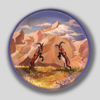 «Игры козерогов в Алтайских горах»